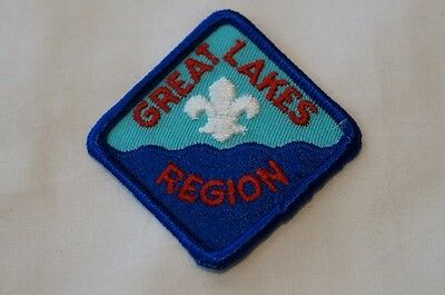 US Canadian Great Lakes Region Boy Scout Patch