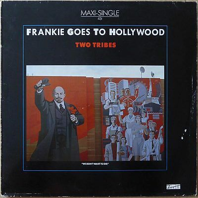 "12"" Frankie Goes To Hollywood - Two Tribes (1) - Europa 1984 -  VG+(+)"
