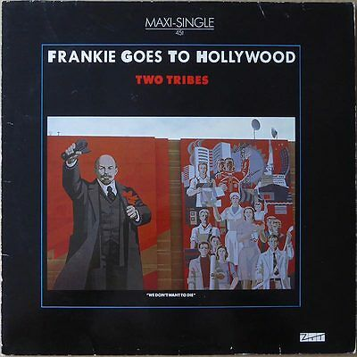 "12"" Frankie Goes To Hollywood - Two Tribes (2) - Europa 1984 -  VG+(+)"