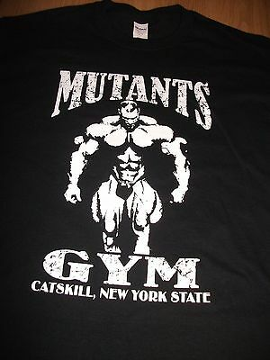 MUTANTS GYM T-SHIRT all sizes and colours BRAND NEW ANABOLIC BODYBUILDING