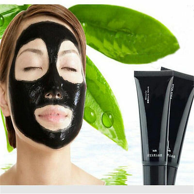 Deep Cleaning Skin Blackhead Removal Acne Treatment Black Mud Face Mask Facial