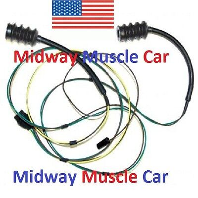 rear body tail light lamp wiring harness chevy gmc pickup truck  rear body taillight wiring harness chevy pickup truck 63 66