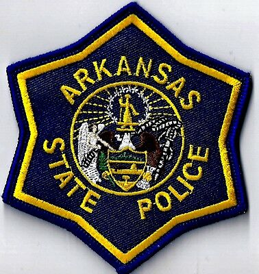 Arkansas State Police - Shoulder Iron / Sew On Patch