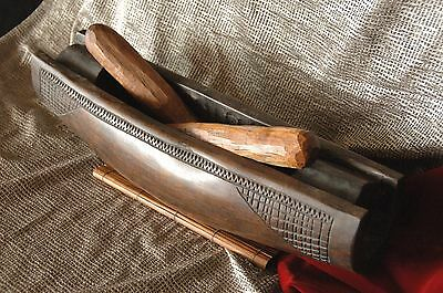 Old Papua New Guinea Bougainville Island Hardwood Slit Drum …beautifully carved