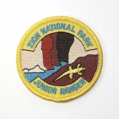 Official Zion National Park Junior Ranger Souvenir Patch - Utah