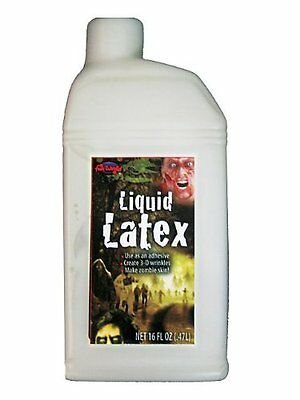 Liquid Latex (16 Fluid Ounces) liquid Latex for special effect makeup NEW