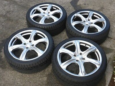 17 inch mag wheels and Nexen 205/40 R17 tyres