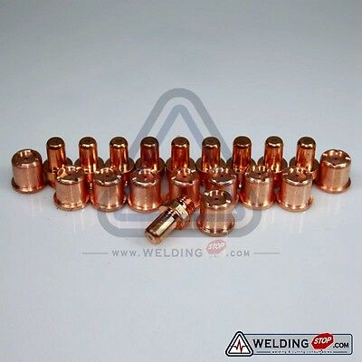 Plasma cutting Electrode Nozzle Tip 1402 1396 for Cebora CP-70  Torch x20