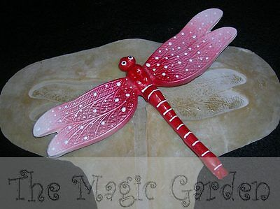 X-Large giant dragonfly insect plaster cement craft latex moulds molds