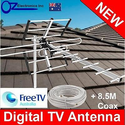 Greentek Outdoor TV Antenna UHF VHF FM 4 Queensland conditions Country Areas NEW