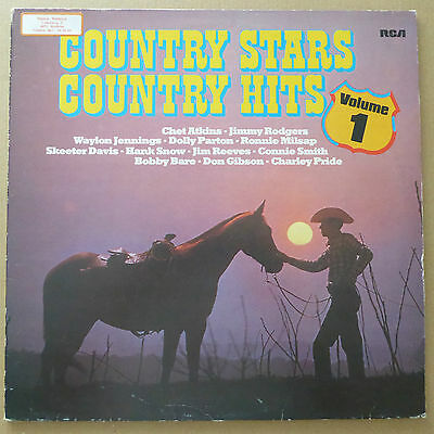 Country - Country Stars Country Hits Volume 1 - DE 1981 - VG++