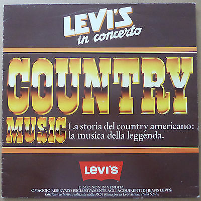 Country - Levi's In Concerto (Country Music) - Italien 1982 - VG++ to NM