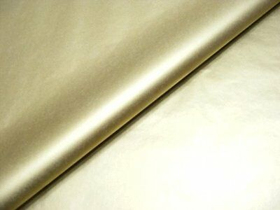 """10 x Metallic Gold Tissue Paper / Gift Wrap / Wrapping Paper Sheets 20"""" x 30"""""""