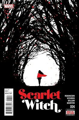 Scarlet Witch #4 2016 Marvel Comics