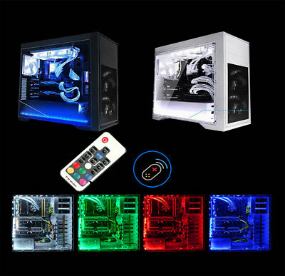 2X 30Cm Rgb Led Light For Budget Pc Case Tower Pc Gaming Computer Case Led Light