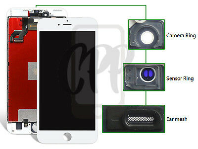 Brand New iPhone 6S Plus + White LCD Touch Screen Digitizer Display Replacement