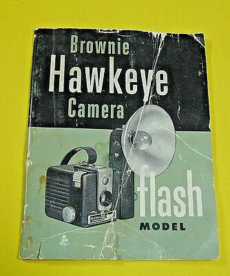 Brownie Hawkeye Camera Instruction Manual User's Guide Booklet