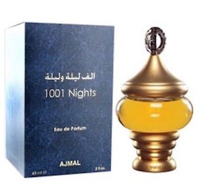 1001 Nights Eau De Parfum by Ajmal with Spicy Woody Floral Musky Fragrance 60ml
