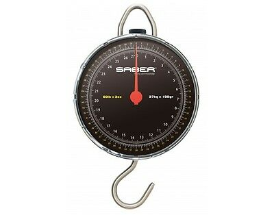 Saber  scales weigh up to 60 lbs in 2 oz divisions carp pike fishing