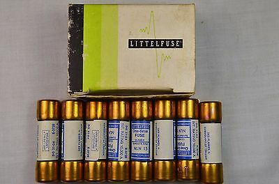 Tracor Littelfuse NLN 15 250 Volt One Time Fuses Box of 8 NOS