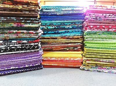 Lot of 25 Beautiful FAT QUARTERS, 100% Cotton