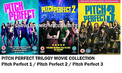 PITCH PERFECT COMPLETE PART 1 AND 2 MOVIE FILM COLLECTION Anna Kendrick NEW DVD
