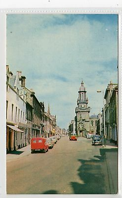 HIGH STREET, FORRES: Morayshire postcard (C21096)