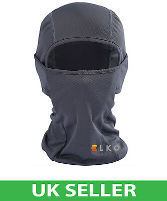 ELKO® Black Balaclava Mask Bike Under Helmet Winter Warm Army Style Neck Warmer