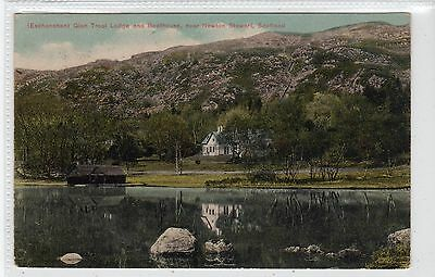 GLEN TROOL LODGE & BOATHOUSE, nr NEWTON STEWART: Wigtownshire postcard (C21249)