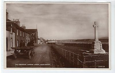 THE CRESCENT LOOKING NORTH, GARLIESTON: Wigtownshire postcard (C21253)