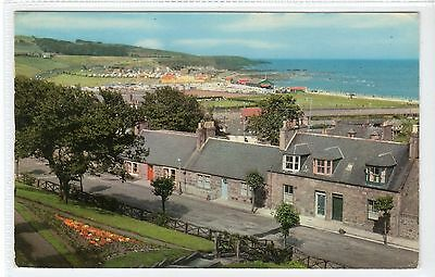 STONEHAVEN, LOOKING NORTH: Kincardineshire postcard (C21275)