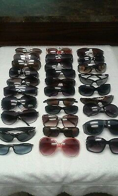 Womens Sunglasses Designer Lot Of 30 Pairs