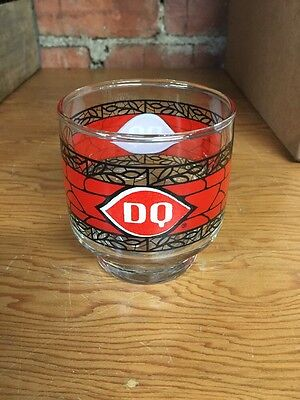 Vintage Dairy Queen Juice Glass 3.25 Inches Tall