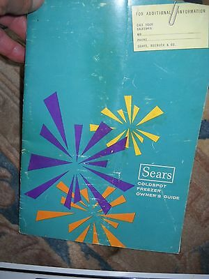 1964 Sears Coldspot Freezer Owners Guide