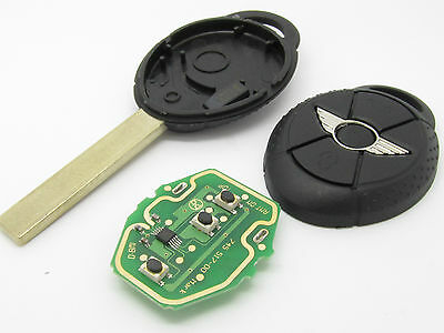 New remote COMPLETE key fob for BMW MINI COOPER / ONE R50 R52 R53 433MHZ