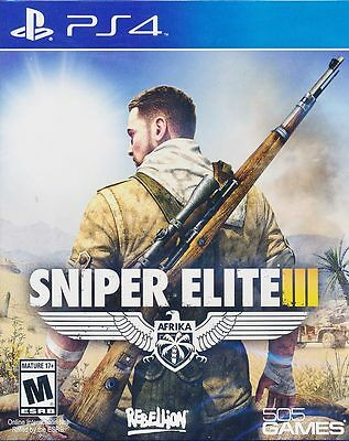 Sniper Elite III 3 - Sony PS4 Game - Brand New & Sealed