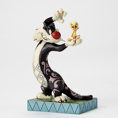 Jim Shore Skulptur - LOONEY TUNES - Sylvester & Tweety - Enesco Figur 4049386