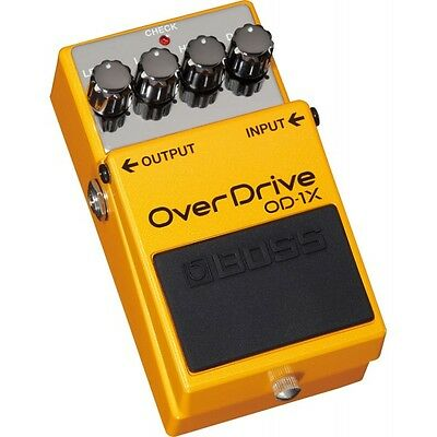 Pedal BOSS OD-1X - Overdrive Distorsión / Overdrive