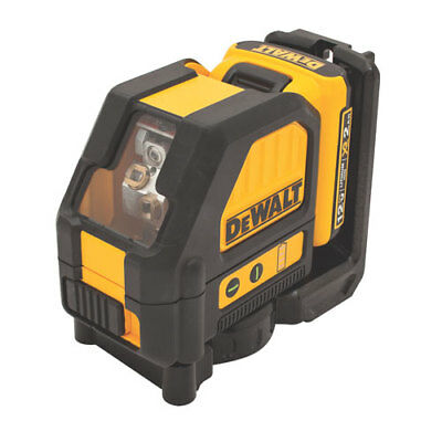 "DeWalt DW088LG ""GREEN"" Laser 12v Max Cross Line PLUS Free 12v Max Battery"