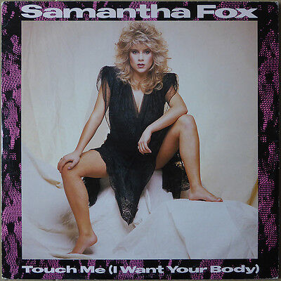 "12"" Samantha Fox - Touch Me (I Want Your Body) - UK / Europe 1986 - NM"