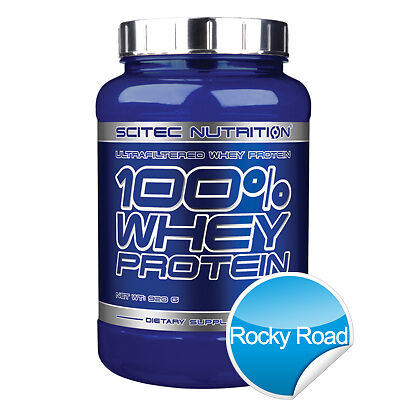 100% Whey Protein - 920 g - Rocky Road