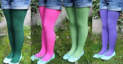 Good Quality Kids Warm Fleece Lined Tights 2-9 yrs limited stock