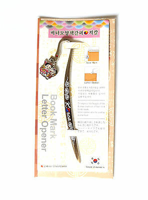 Traditional Korean Metal Letter Opener -  young kids02