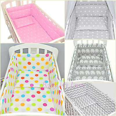LOVELY 6 pcs BABY SWINGING/ ROCKING CRIB /CRADLE BEDDING SET/ALL ROUND BUMPER