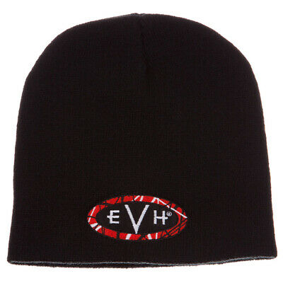 EVH Eddie Van Halen Knitted Beanie with EVH Logo Stretch One-Size Fits All