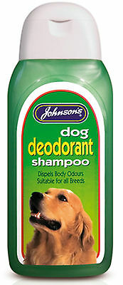 Johnson's Dog Deodorant Shampoo 400ml