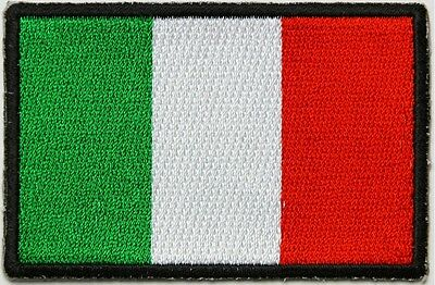 ITALIAN FLAG - IRON or SEW-ON PATCH