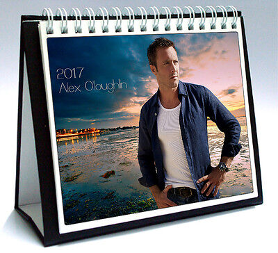 Alex O'Loughlin 2017 Desktop Holiday Calendar Steve McGarrett Hawaii Five