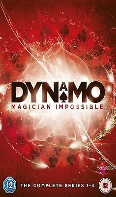 Dynamo Magician Impossible Complete Series 1 2 3 DVD Box Set Collection New UK