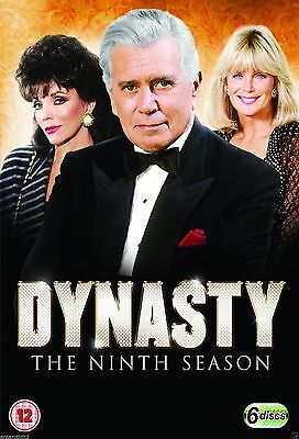 Dynasty Complete Series 9 DVD Box Set Brand New Season UK R2 Original 9th Nineth